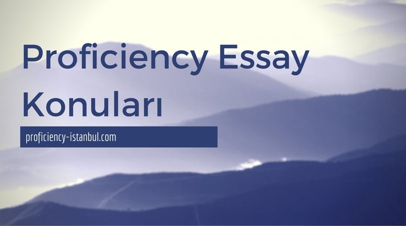 proficiency essay We will write a custom essay sample on writing proficiency course this essay highlights the importance of reflection as a strategy for learning from previous experiences.